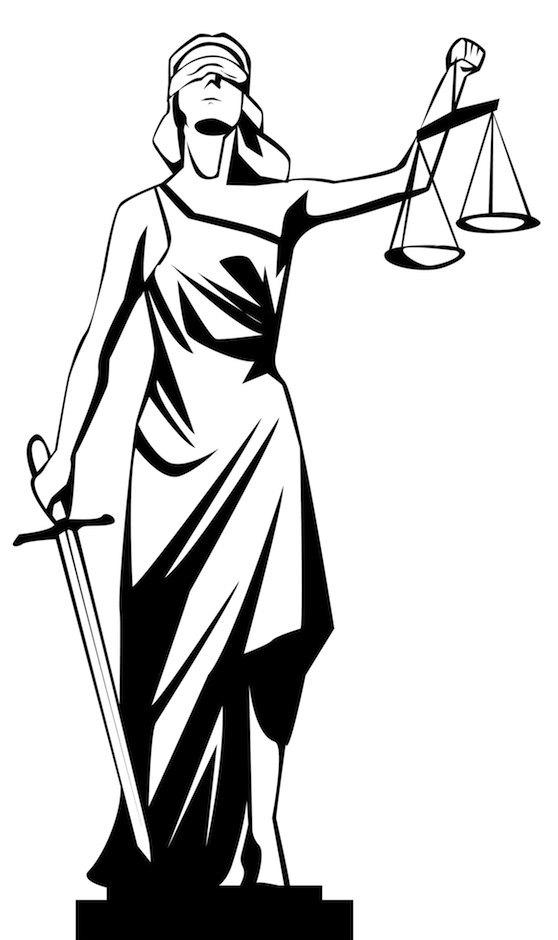 Colombia, país sin justicia. Balance Scale Sketch